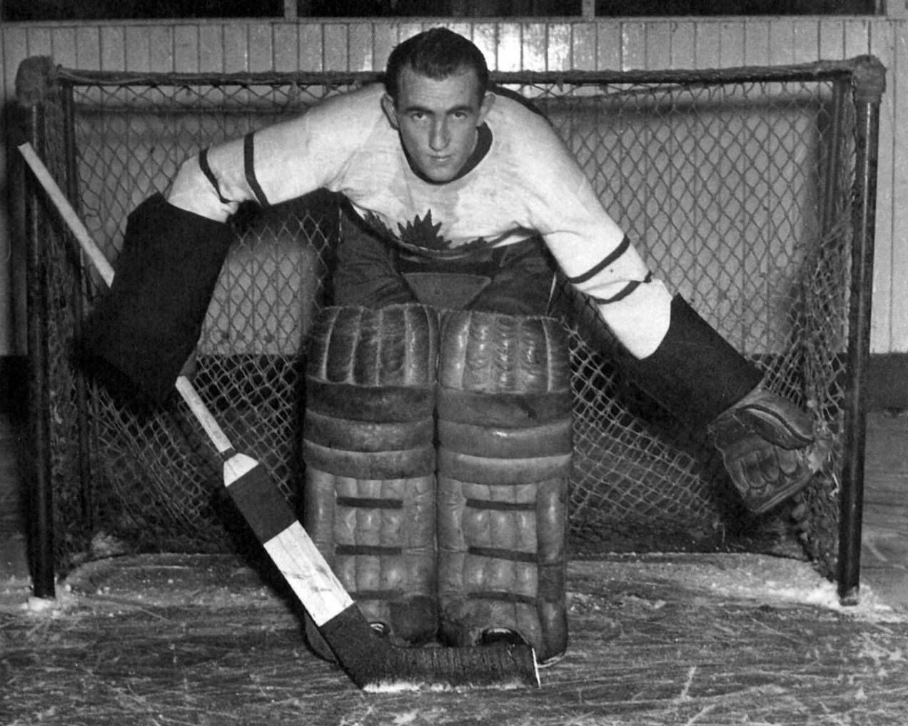 Frank Mccool Toronto Maple Leafs Stanley Cup Champion