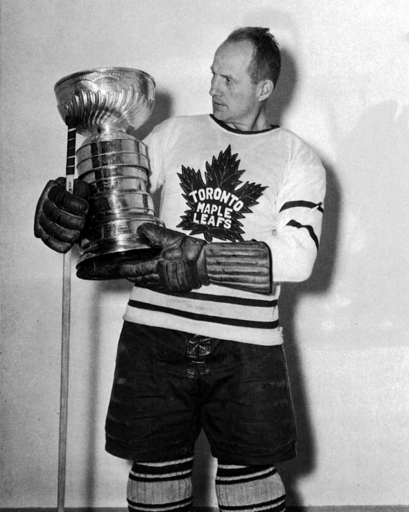 Happy Day Hap Day Holding The Stanley Cup 1932