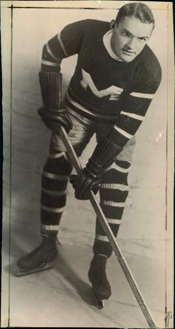 Babe Siebert - Montreal Maroons - Stanley Cup Champion - 1926