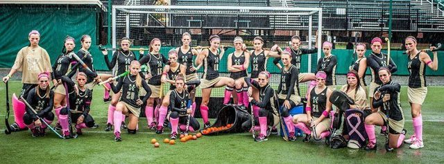 Husson Eagles - Girls Team - Bangor, Maine - Stick Your Pink On
