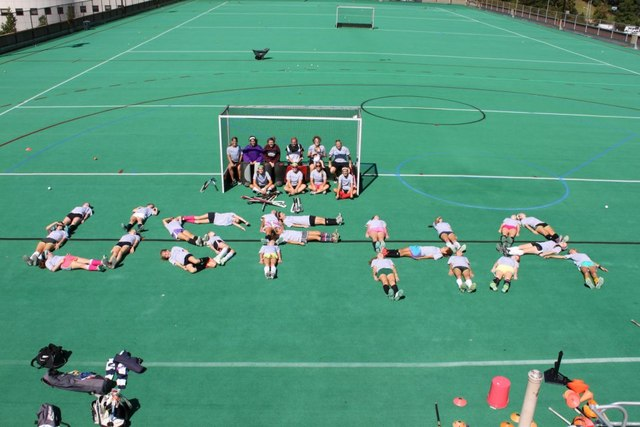 Sick Field Hockey Team Spelling USFHA - September - 2012