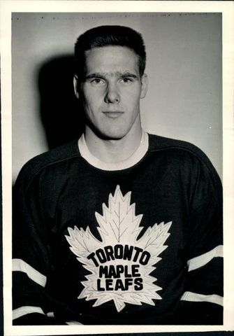 Tim Horton - Toronto Maple Leafs - 1960s