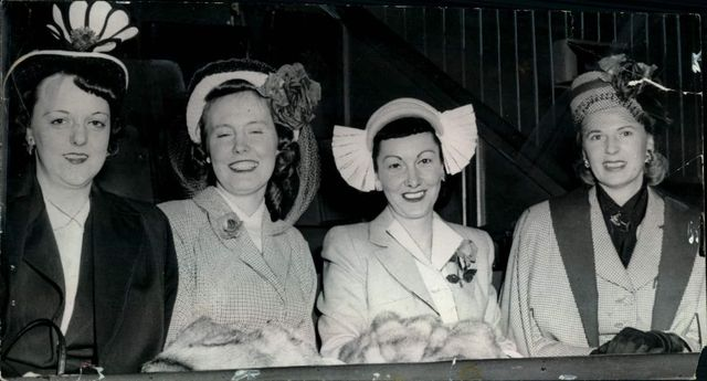 Hockey Wives - Montreal Canadiens - 1950s