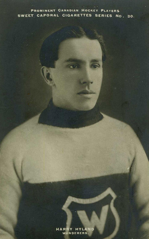 Harry Hyland - Scored 4 Goals in The 1st NHL Game - Dec 19, 1917