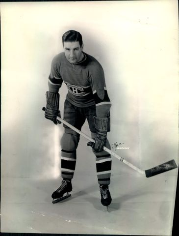 Marty Barry - Montreal Canadiens - 1939