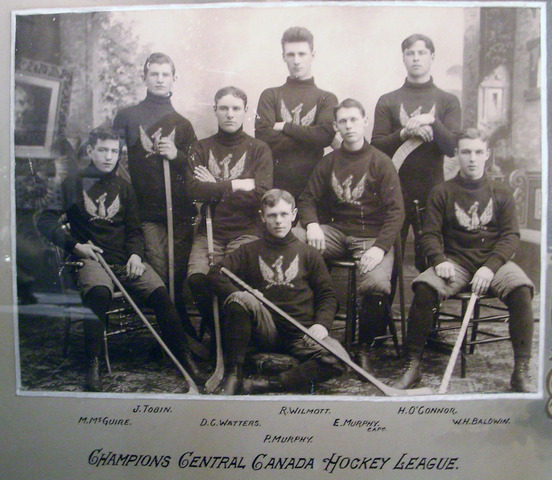 Ottawa Capitals - Champions Central Canada Hockey League - 1897