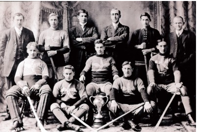 Crescents Hockey Team - 1911 - Champions of Intermediate League