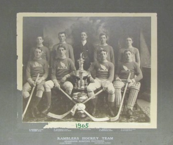Ramblers Hockey Team - Champions Maritime Provinces - 1905