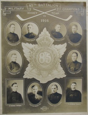 Nova Scotia Highlanders - 85th Battalion Military Champions 1916