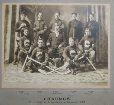 Halifax Coburgs - Champions of the Intermediate League - 1915