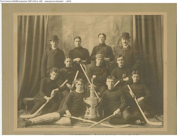 Wanderers Hockey Team - Champions of Nova Scotia - 1901
