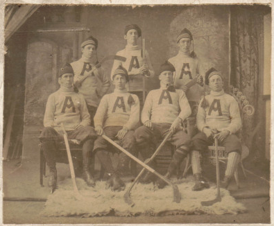 Antigonish Hockey Team - 1898 - Nova Scotia