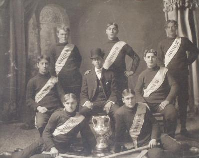 Elgrave Hockey Team - Winners of Citizens Trophy - 1906