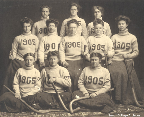 Smith College Field Hockey Team - Northampton - 1905