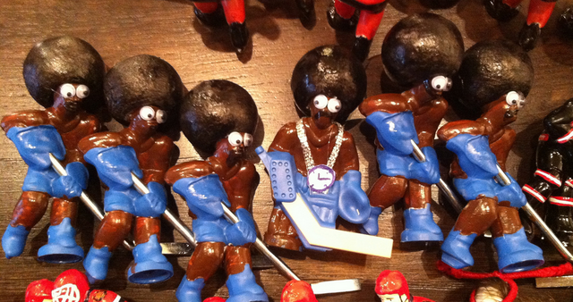 Brooklyn Blacks - Custom Table Hockey Players - Table Top Hockey