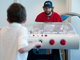 Ty Conklin Playing Bubble Hockey - 2011