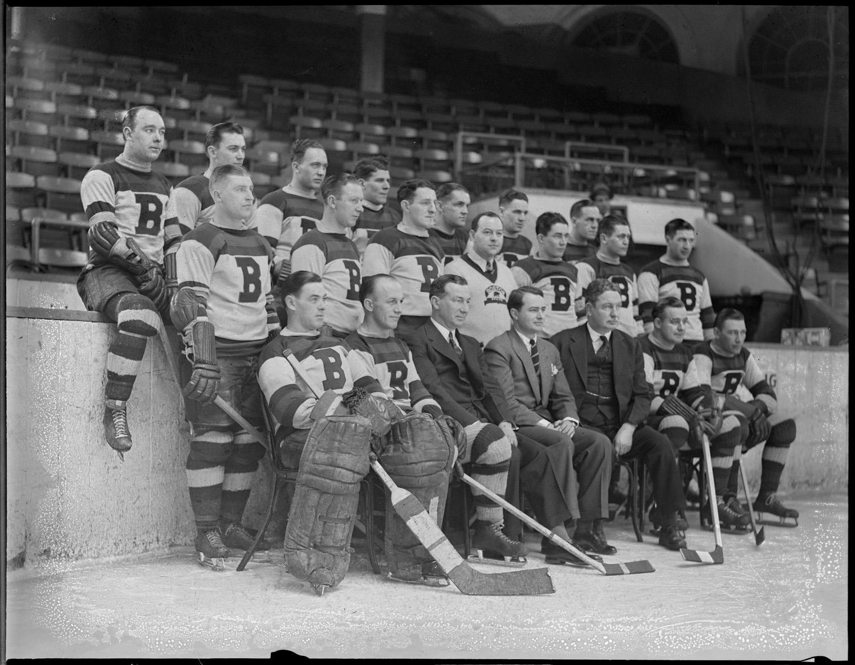 Boston Bruins Team Photo 1935 Hockeygods