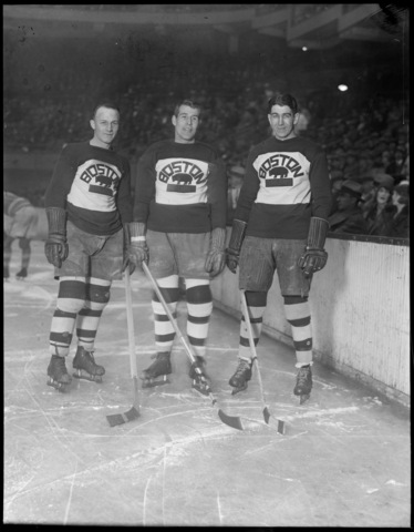 Boston Bruins - Eddie Shore - George Owen - Lionel Hitchman 1928