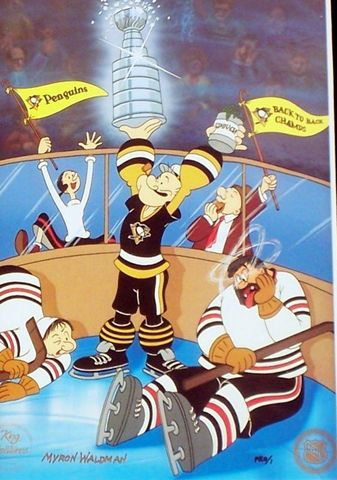 Hockey Card 1993 Popeye