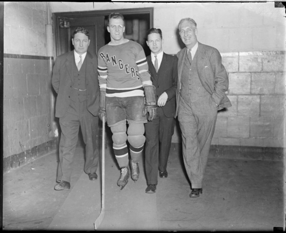 The Patrick Family - Ice Hockey Royalty - circa 1934