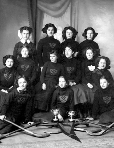 Victoria College - Field Hockey Champions - Early 1900s
