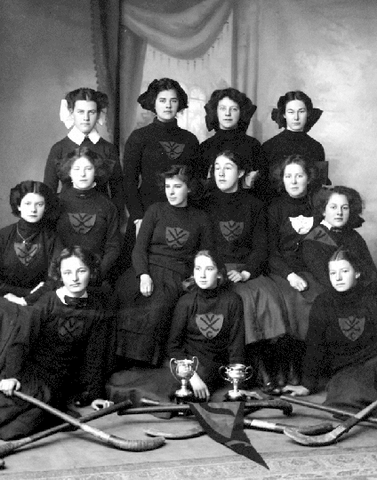 Victoria College - Women's Field Hockey Champions - Early 1900s