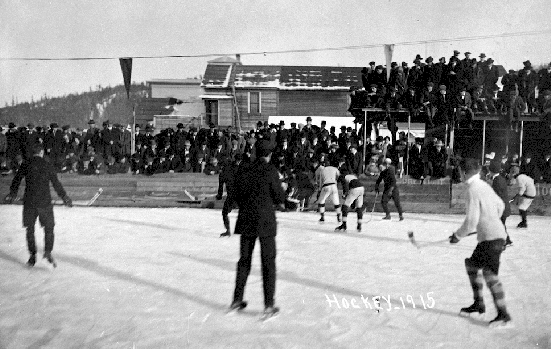 Prince George Hockey - South Fort George Ice Hockey Game - 1915