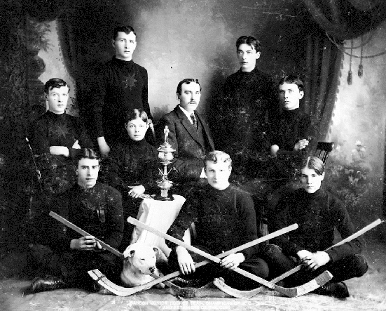 Sandon Hockey Team - Junior Men - 1901