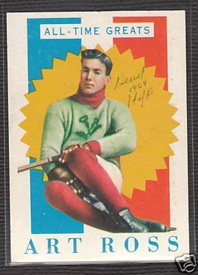 Hockey Card Art Ross 2
