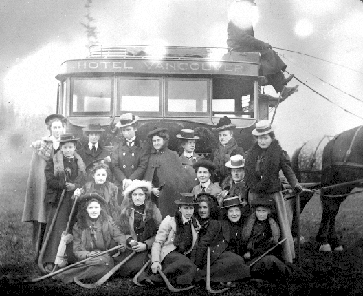 Victoria High School - Girls Field Hockey Team - 1901