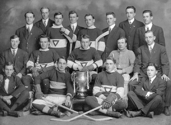 Victoria YMCA Hockey Team - Dudleigh Cup Champions - 1913