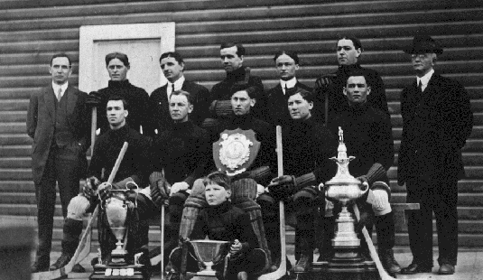 Trail Hockey Club - McBride Cup & Daily News Cup Champions 1914