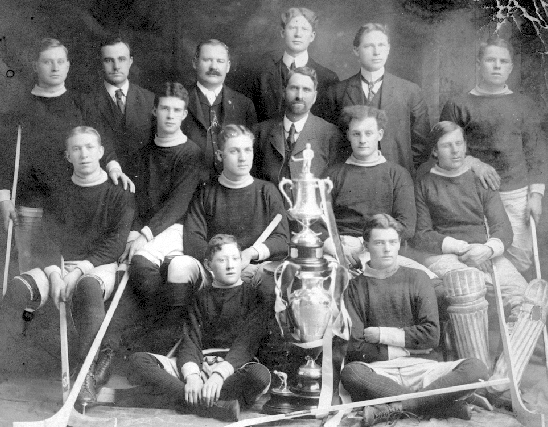 Rossland Victoria Hockey Club - Ice Hockey Champions - 1905