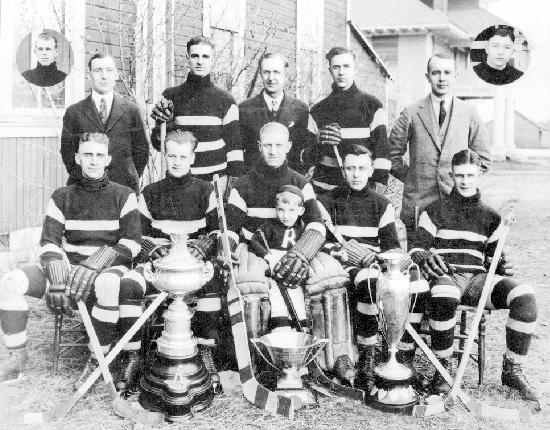 Rossland Miners - Champions of British Columbia - 1924