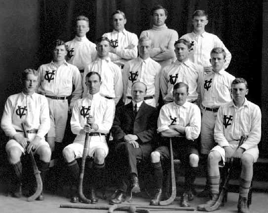 Victoria College - Men's Field Hockey Team - Early 1900s