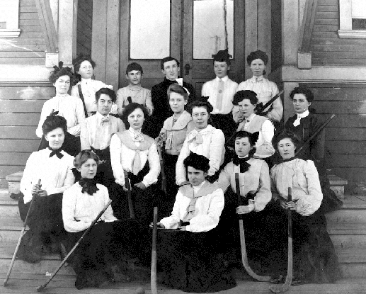 Vancouver Women's Field Hockey Team - Early 1900s