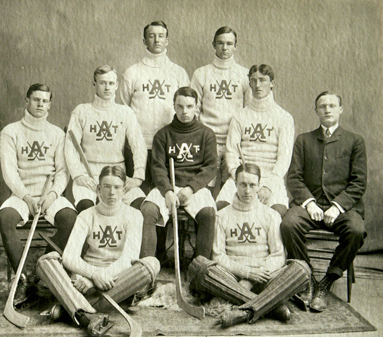 West Point Military Academy Hockey Team - early 1900s