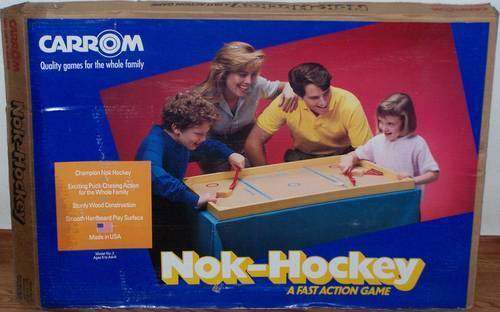 Nok-Hockey Game - Original Box