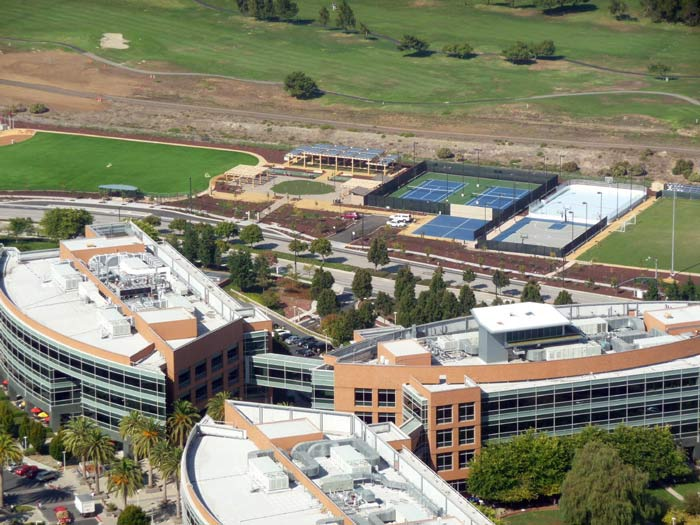 google main office. Google Head Office With Inline Hockey Court For Employees Main