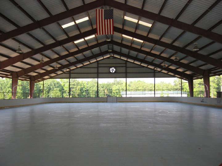 Peachtree Outdoor Rink Georgia Usa Inline Hockey
