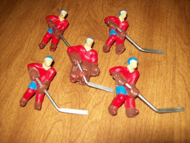 Vintage Table Hockey Players - 1970s - 3D - Puckmaster