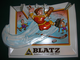 Vintage Blatz Beer Sign - Ice Hockey - 1976