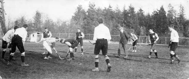 Vancouver Mens Field Hockey Game - 1912