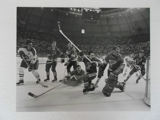 Montreal Canadiens 1st Visit to St Louis to play the Blues 1969