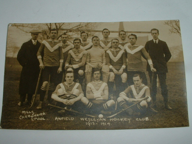 Anfield Wesleyan Hockey Club - Liverpool - England - 1914