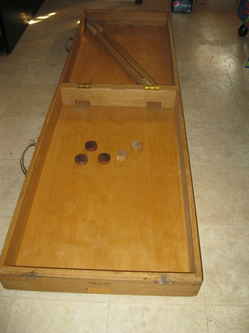 Vintage Box Hockey Game - World Wide Games - Delaware - 1965