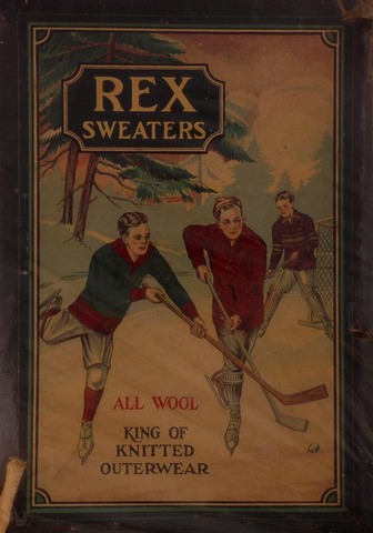 Antique Ice Hockey Sweaters - Rex Sweaters - Early 1910s