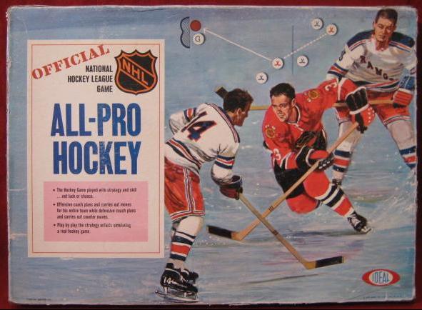 Vintage Board Hockey Game