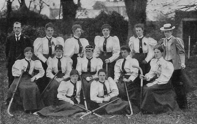 Ireland Field Hockey Team - Ladies Hockey Team - 1896
