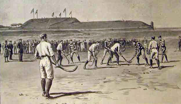 The Occupation of Canea - Hockey in the Midst of War - 1897